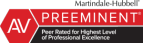 LexisNexis - Martindale-Hubbell Peer Review Rated AV